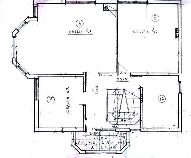 эскиз план дома