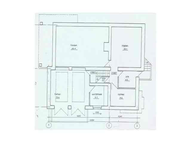планировка первого этажа