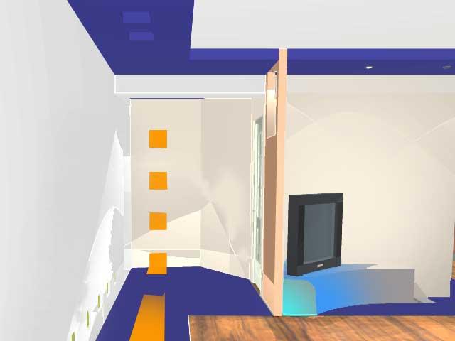 дизайн прект прихожей, комнаты