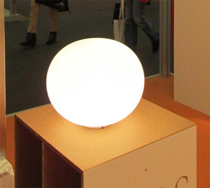 Светильник в виде круглого шара