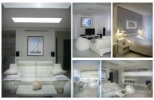 фото дизайна спальни с белым фоном