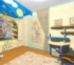 морская комната для мальчика