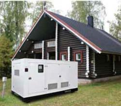 дизельный электрогенератор для дачи