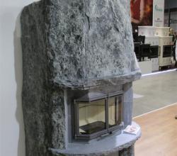 камин из камня