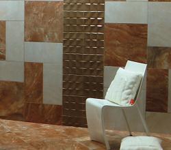 панно из мозаики в ванной комнате