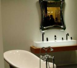 Фото отремонтированной ванной комнаты