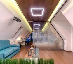 фото освещения комнаты светодиодной лентой на 220 вольт