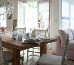Фото гостиной, оформленной в стиле прованс