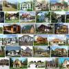 Строительство коттеджей и зданий из панелей, плит и блоков