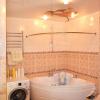 Ремонт в ванной персик фото
