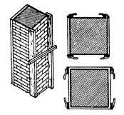 оштукатуривание квадратных колонн