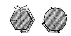 штукатурка многогранной колонны