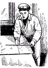 подготовка облицовочных листов