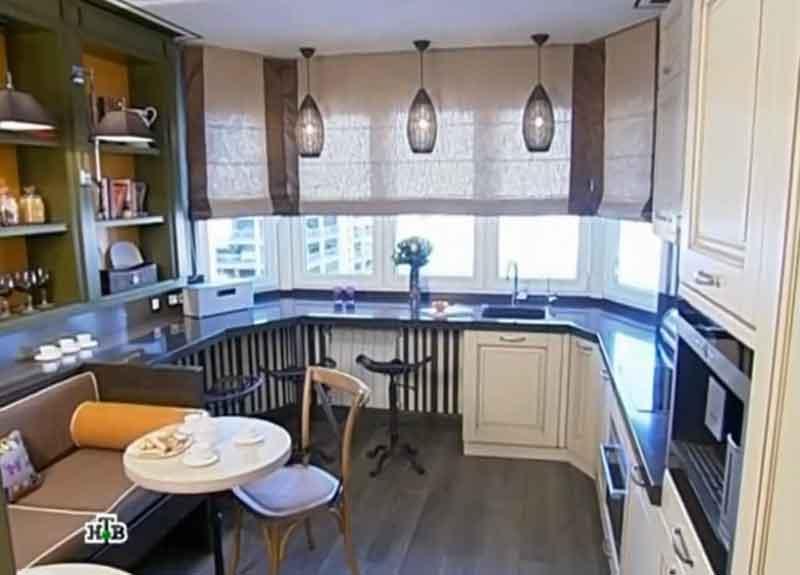 вид дизайна кухни, квартирный вопрос кухни фото
