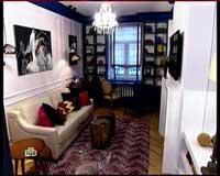 Фото интерьера спальни гостиной в французском стиле.