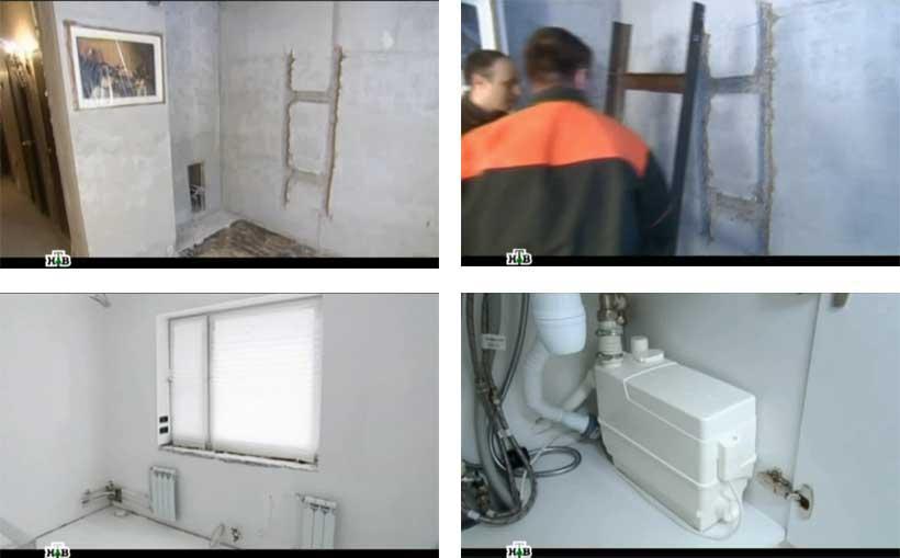 фото мойки на кухне, фото кухонной канализации