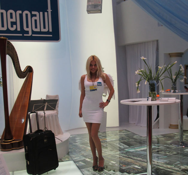 строительные материалы Bergauf, выставка Мосбилд 2013