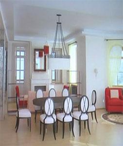 цветовое решение в интерьере квартиры