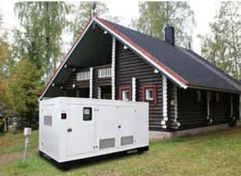 электогенератор, электрогенераторная установка на даче