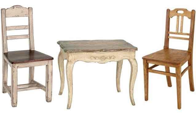 Стулья в стиле прованс деревянные своими руками