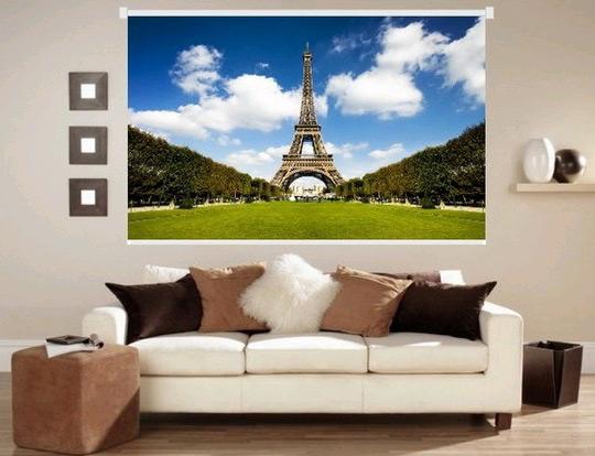 оформить интерьер своего дома фотожалюзи
