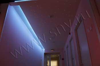 цена натяжного потолка, натяжной потолок звездное небо
