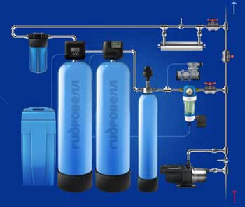 ионное умягчение воды