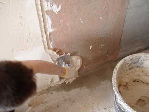 Приготовление церезито-цементового штукатурного раствора