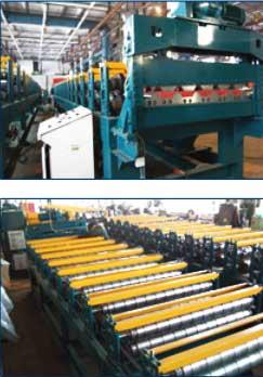 фото оборудования для производства профнастила