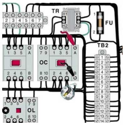 разработка электросхемы