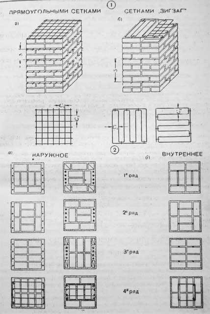 армирование кладки - Нужные схемы и описания для всех.