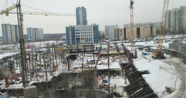 возведение бетонных конструкций