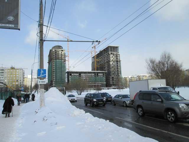 Монтаж крупнопанельных зданий, виды зданий.