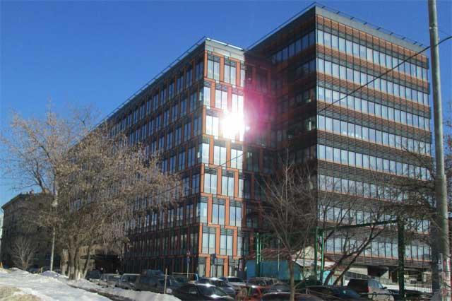 остекление многоэтажного здания фото