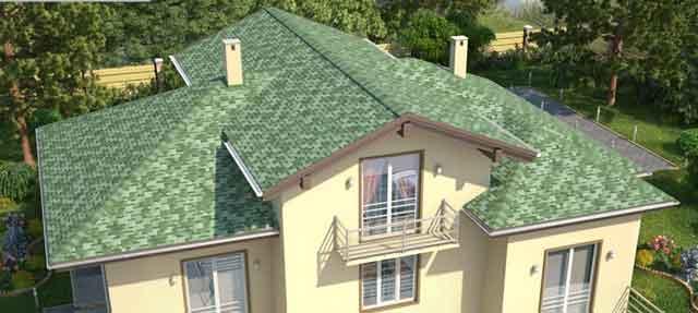 фото мягкой черепицы на крыше