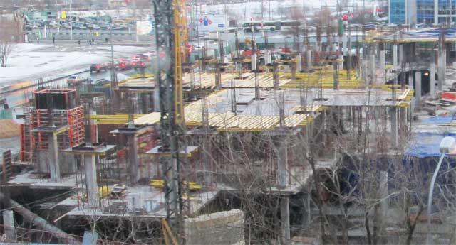 фото бетонных конструкций и фундаментов