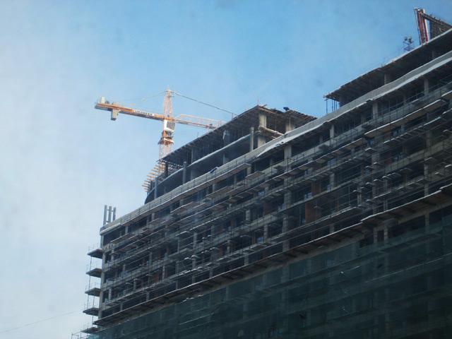заделка стыков, твердение бетона