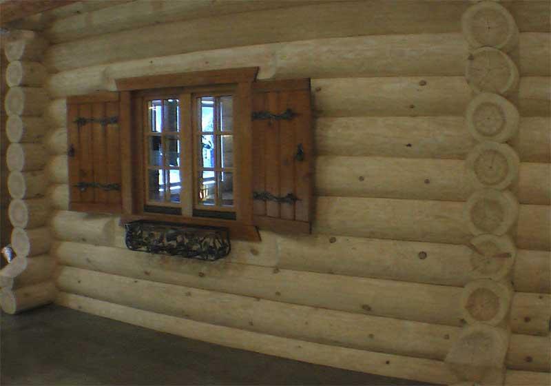 Фото рубленого дома из кедра