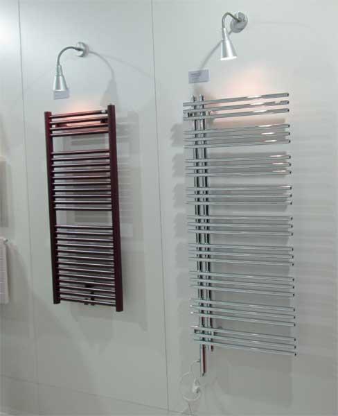 Фото электрических полотенцесушителей