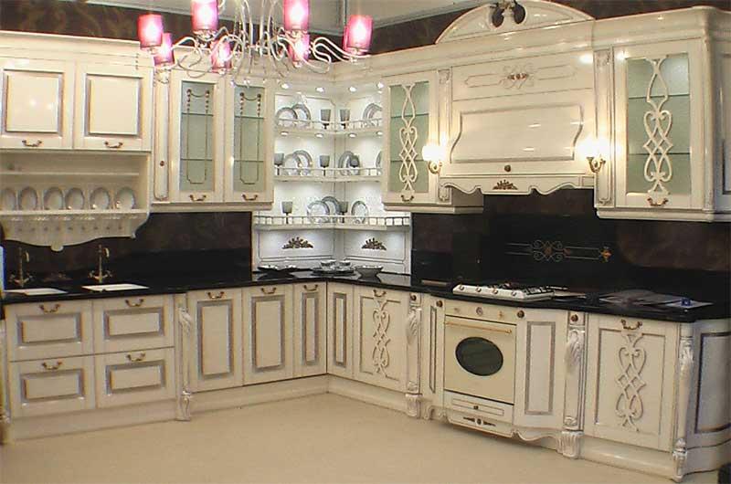 фото обустройства большой кухни, большие кухни