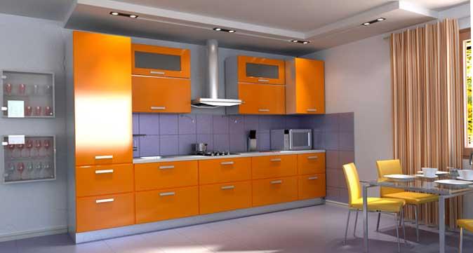 Мебель для кухни из пленки