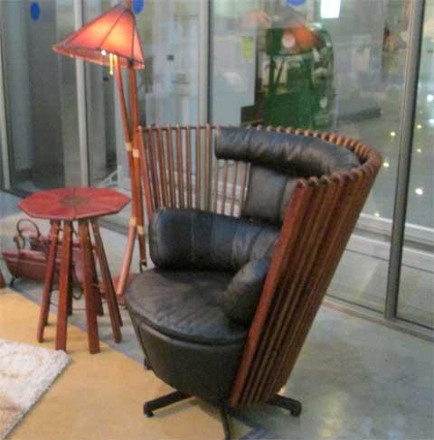 мебель в гостевом домике, кресло для гостей