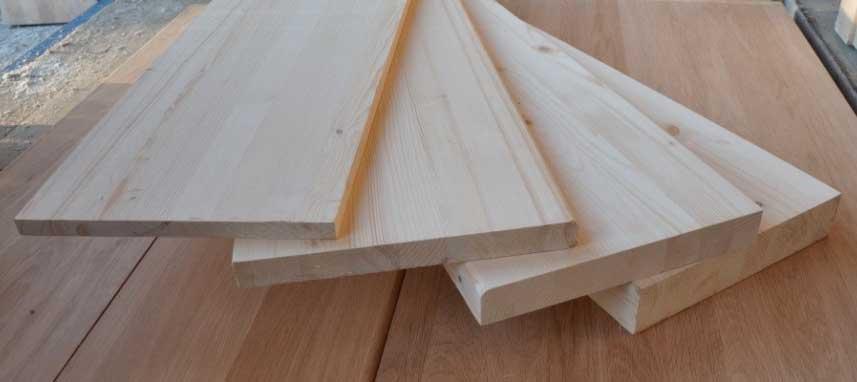 фото мебельных щитов из сосны