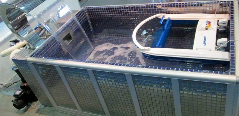 очистка воды в бассейне хлором и кислородом