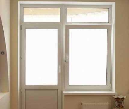фото отделки балконной двери и пластикового окна