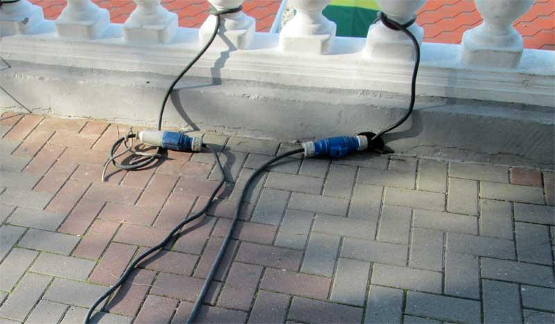 Фото подключения дома к электричеству