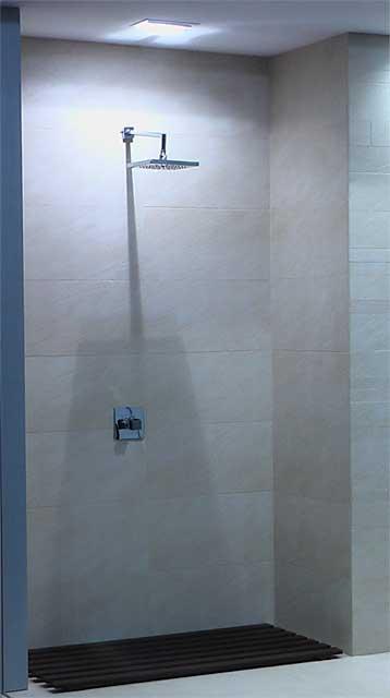 душ вместо ванной