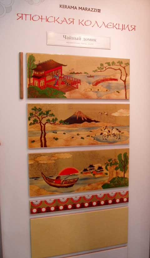 японская плитка в ванную