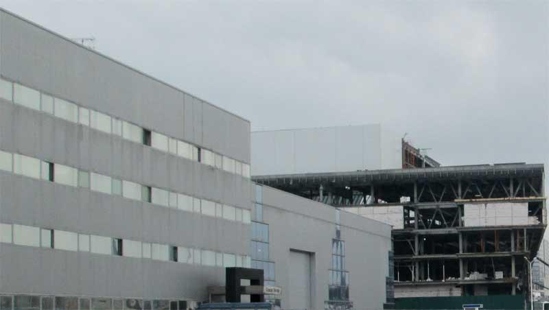 Фото здания из легкого бетона