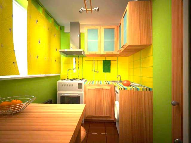 фото обустройства интерьера маленько кухни